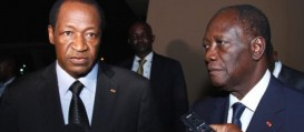 Les Prsidents Ouattara et Compaor toujours solidaires du Mali