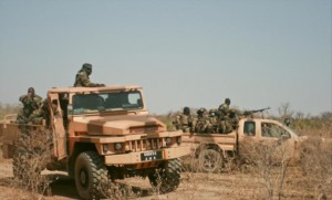 armee nationale malienne pickup militaire