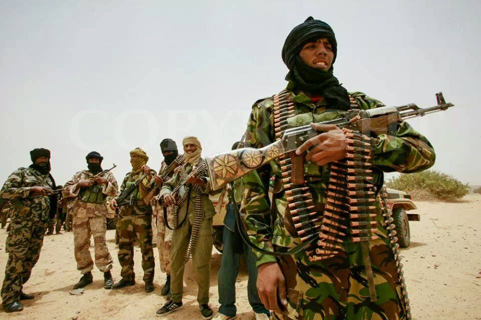 mnla rebelle touareg independanliste bandis armee combattant arabe nord mali azawad