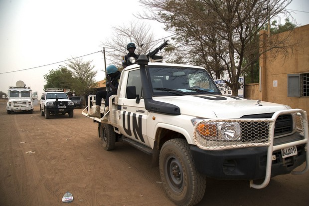 vehicule voiture soldat militaire minusma nord mali